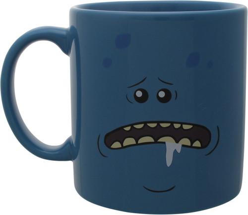 Rick and Morty Mr. Meeseeks Jumbo Coffee Mug