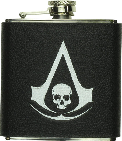 Assassins Creed IV Logo Flask