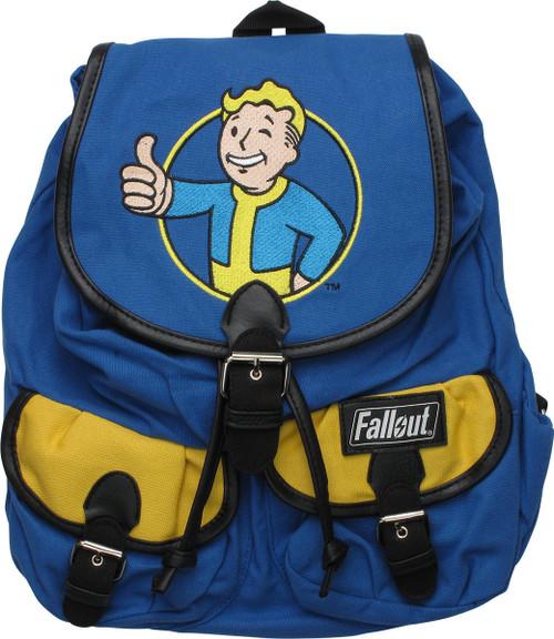 Fallout Vault Boy Thumbs Up Logo Knapsack