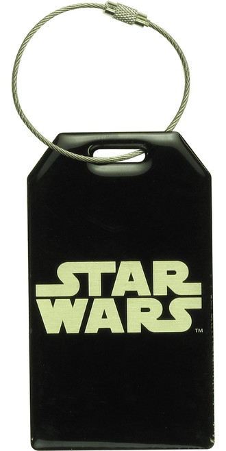 Star Wars Name Logo Aluminum Luggage Tag