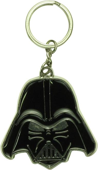 Star Wars Darth Vader Helmet Metal Keychain