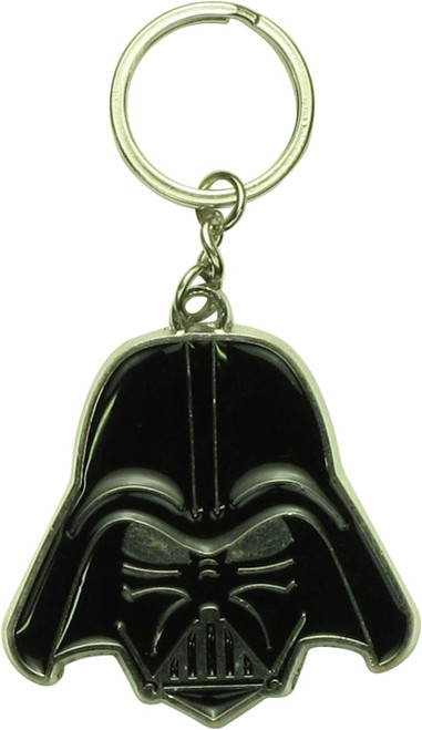 Star Wars Darth Vader Helmet Metal Keychain