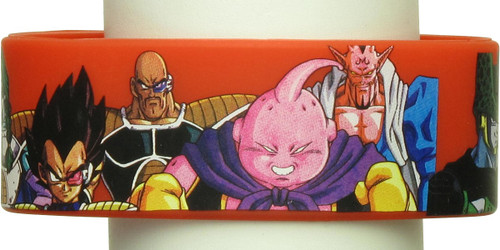 Dragon Ball Z Characters Rubber Bracelet