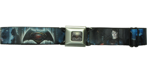 Batman v Superman Movie Images Seatbelt Belt