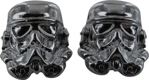 Star Wars 3D Stormtrooper Helmet Stud Earrings