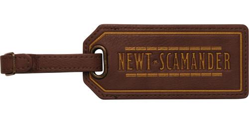 Fantastic Beasts Newt Scamander Luggage Tag