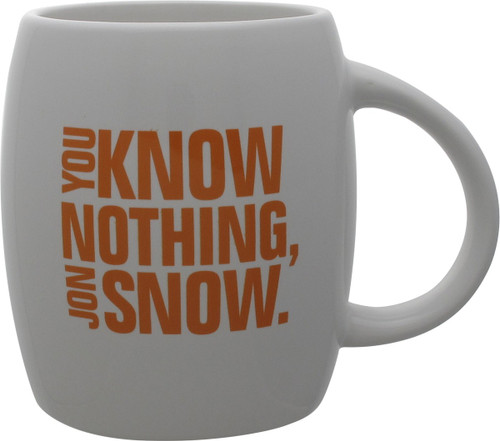 Game of Thrones You Know Nothing Jon Snow Mug