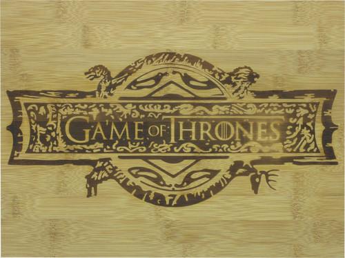 Game of Thrones Logo Bamboo Cutting Board