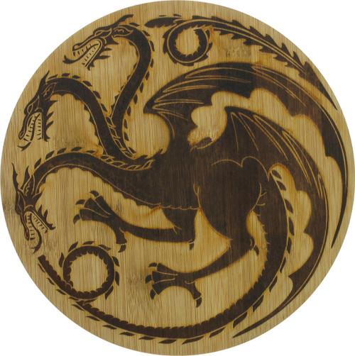 Game of Thrones Targaryen House Logo Cutting Board