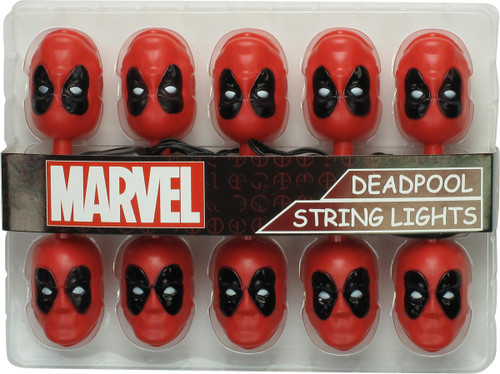 Deadpool Mask String Lights