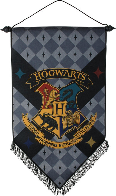Harry Potter Hogwarts Felt Banner Flag