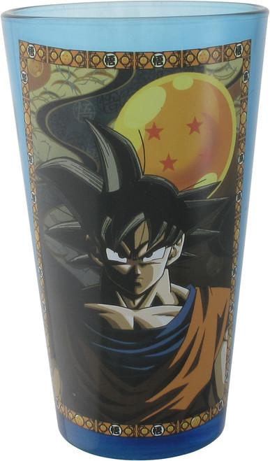 Dragon Ball Z Goku Four Star Blue Pint Glass