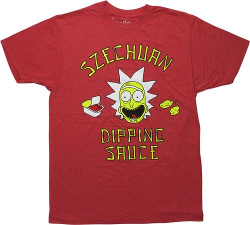 Rick and Morty Rick Szechuan Dipping Sauce T-Shirt