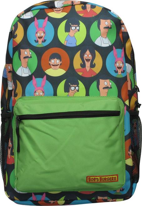Bob's Burgers Family Character Circles Backpack