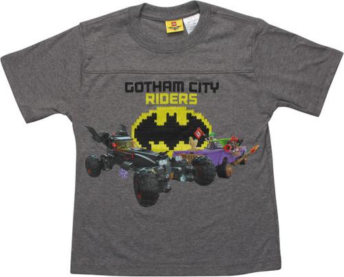 Lego Batman Gotham City Rider Juvenile T-Shirt