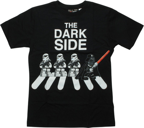 Star Wars Lego Dark Side Darth Vader Youth T-Shirt