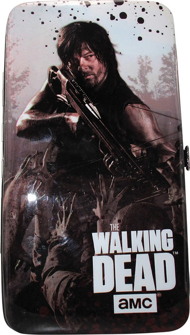 Walking Dead Daryl Dixon Zombies Wings Wallet