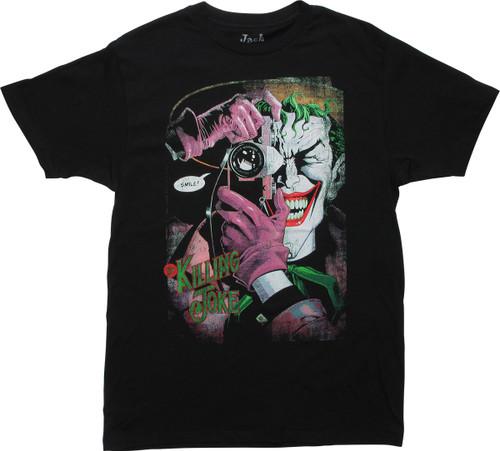 Joker 1988 Killing Joke Comic Cover T-Shirt