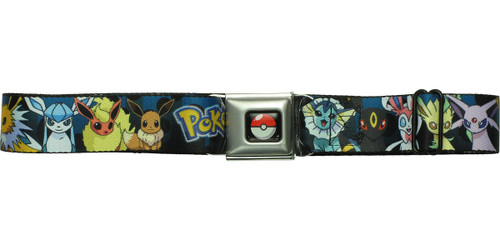 Pokemon Eevee Evolutions HT Seatbelt Belt