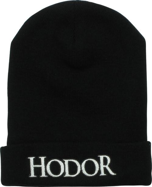 Game of Thrones Hodor Name Cuff Beanie