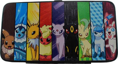 Pokemon Eevee Evolutions Group Clutch Wallet