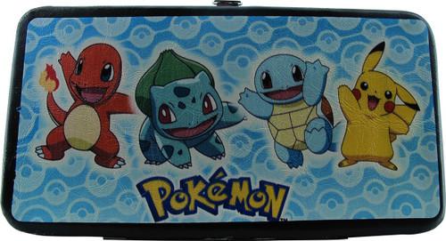 Pokemon Starter Group Pose Pokeballs Clutch Wallet