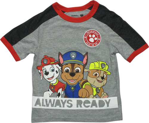 Paw Patrol Teamwork Always Ready Toddler T-Shirt