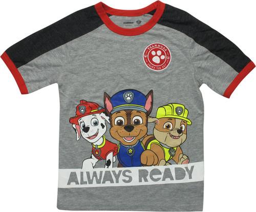 Paw Patrol Teamwork Always Ready Juvenile T-Shirt
