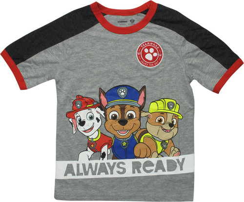 Paw Patrol Teamwork Always Ready Juvenile T-Shirt