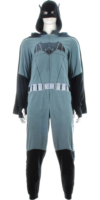 Batman Justice League Movie Hooded Union Suit