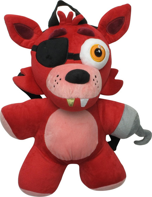 Five Nights at Freddy's Foxy Plush Backpack