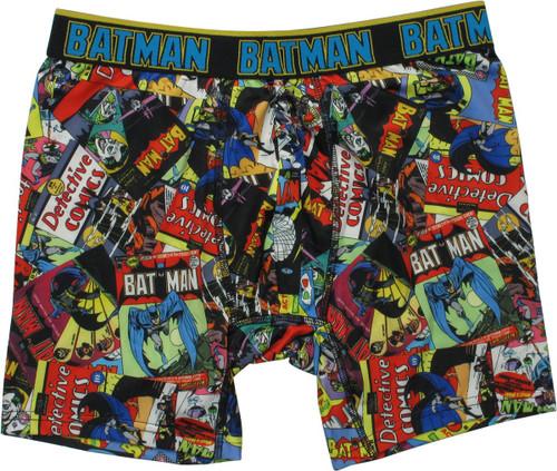 Batman Comic Book Covers Boxer Briefs