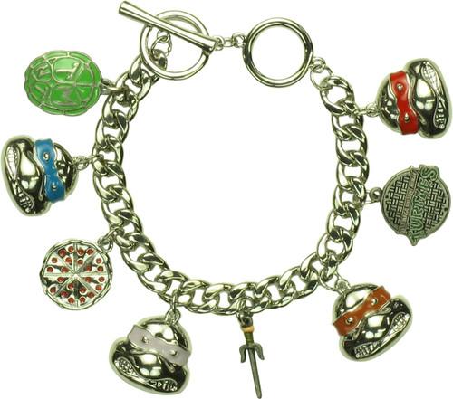 Teenage Mutant Ninja Turtles Eight Charm Bracelet