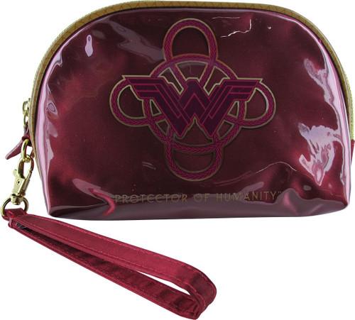 Wonder Woman Protector Cosmetic Wristlet Bag
