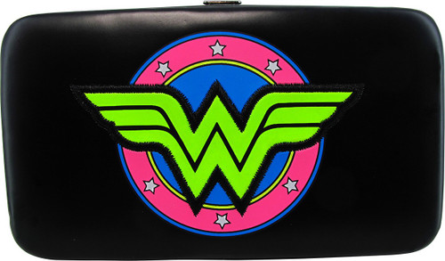 Wonder Woman Logo Phone Case Hinged Wallet