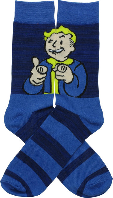 Fallout 4 Vault Boy Point Crew Socks