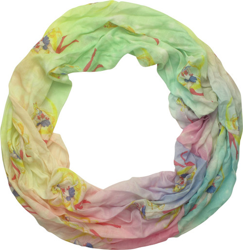 Sailor Moon Crystal Scatter Print Infinity Scarf