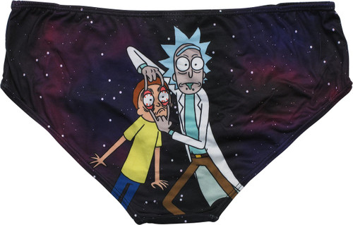 Rick and Morty Look Holding Eyes Panty
