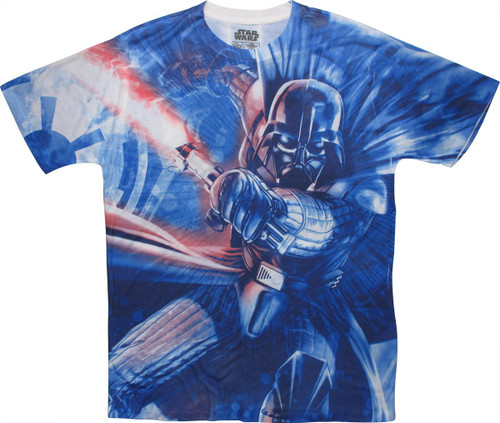 Star Wars Darth Vader Attack Sublimated T-Shirt