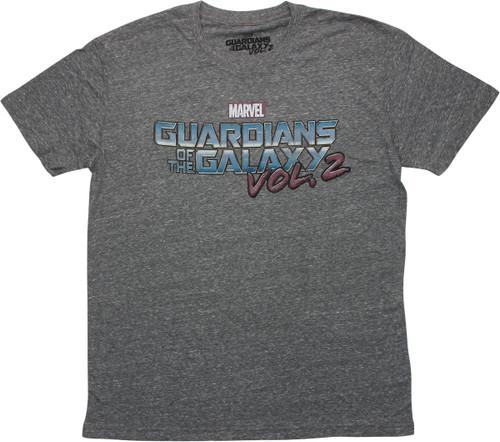Guardians of the Galaxy Vol. 2 Logo T-Shirt