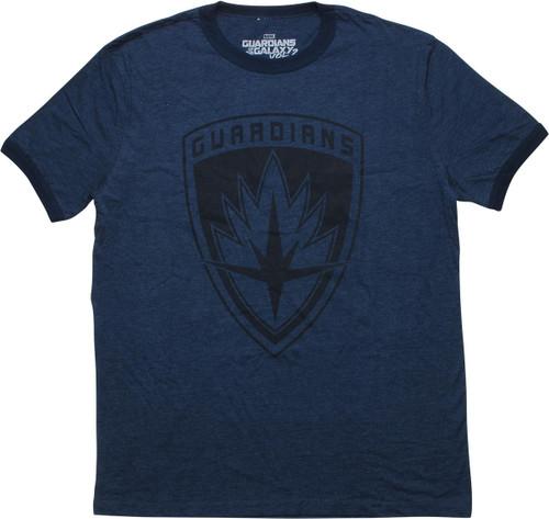 Guardians of the Galaxy Emblem Ringer T-Shirt