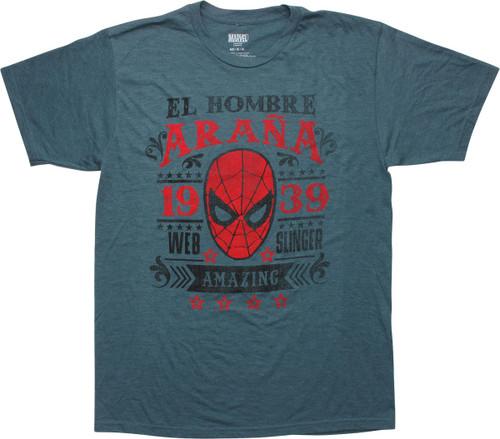 Amazing Spiderman El Hombre Arana 1939 T-Shirt