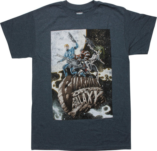 Guardians of the Galaxy Astrosurf Team T-Shirt