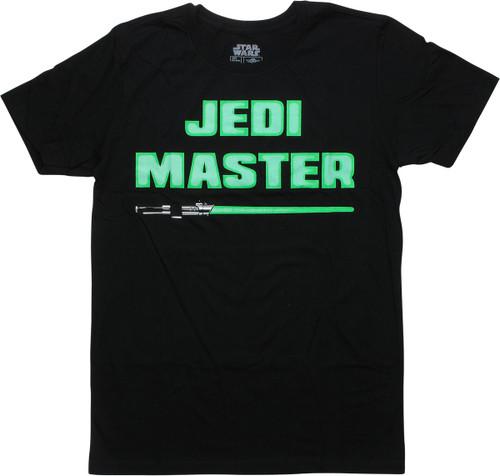Star Wars Jedi Master Black T-Shirt