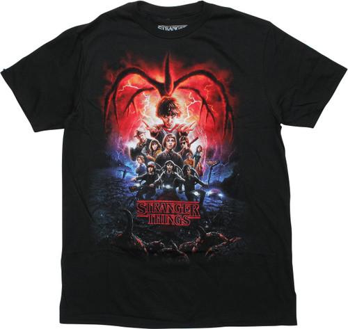 Stranger Things Season 2 Poster T-Shirt