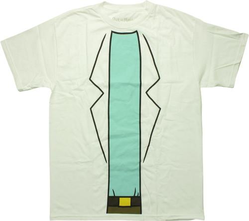 Rick and Morty Rick's Overcoat T-Shirt