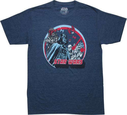 Star Wars Imperial Forces and Boba Fett T-Shirt