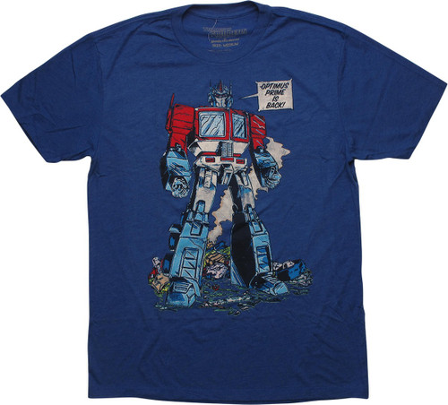 Transformers Optimus Prime is Back T-Shirt