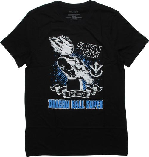 Dragon Ball Super Vegeta Saiyan Prince T-Shirt