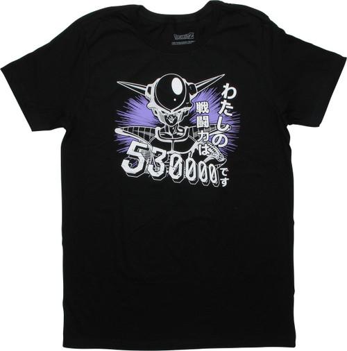Dragon Ball Z Frieza Power 530000 T-Shirt